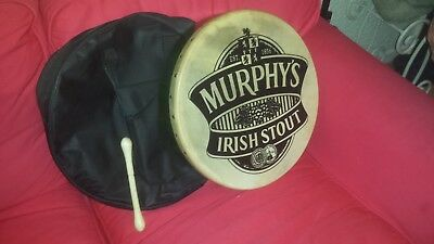 murphy's drum plus drumstick and carry case, in mint condition