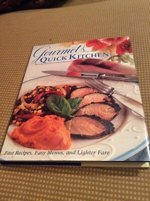 Gourmet's Quick Kitchen 1st Edition Cookbook Cook Book, Mint, 1st Edition