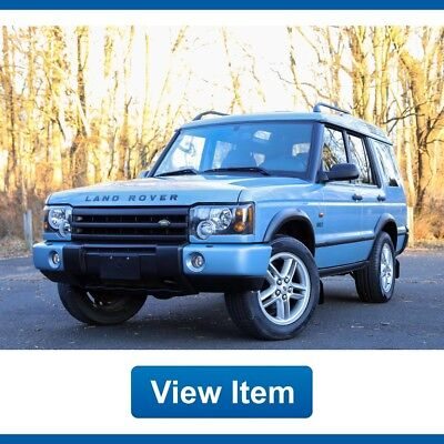 2003 Land Rover Discovery SE7 2003 Land Rover Discovery RARE  1 of 200 Units SE7 4WD 3rd Row Loaded CARFAX!