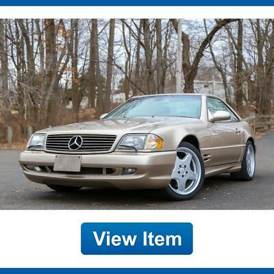 2001 Mercedes-Benz SL-Class Base Convertible 2-Door 2001 Mercedes SL500 Super Low 27K Mi Hard  Soft Top V8 Convertible CARFAX