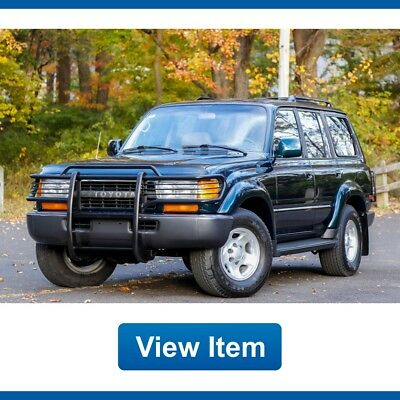 1994 Toyota Land Cruiser Base Sport Utility 4-Door 1994 Toyota Land Cruiser Brush Guard Serviced 4WD FJ80 Southern Tow CARFAX!