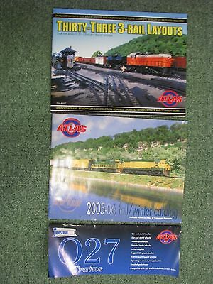 Atlas Full Color Catalog, Track layout Guide and Industrial Rail catalog 2005-06