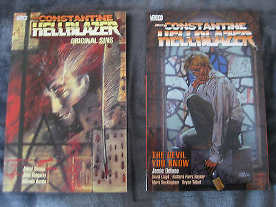 Hellblazer #1-300 complete set in TPB & singles & more; HC GNs & minis