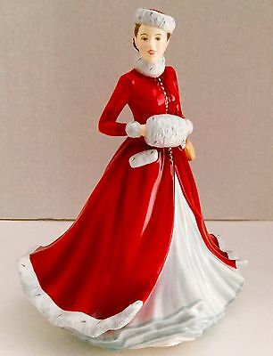 Signed M. Doulton Royal Doulton  NOELLE 2014 VALENTINE'S DAY SALE Limited Ed NIB