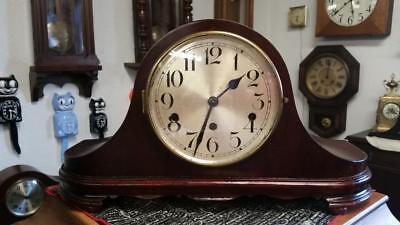 Kienzle Westminster Chime Tambour Mantle Clock