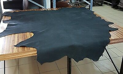 Black Oily Relic Full Cow Hide (Great For That Rustic Look)