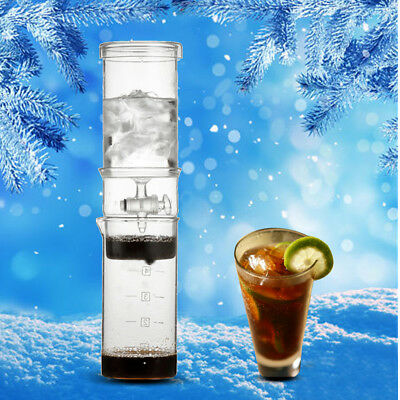 5Cup Dutch Coffee Cold Water Glass Drip Ice Maker Brew Machine Home Office 400ml