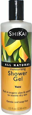 Moisturizing Shower Gel, Shikai Products, 12 oz Yuzu