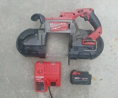 M18 Fuel Deep Cut Band Saw Milwaukee 2729-22 -  Batteries and Charger Free Ship!