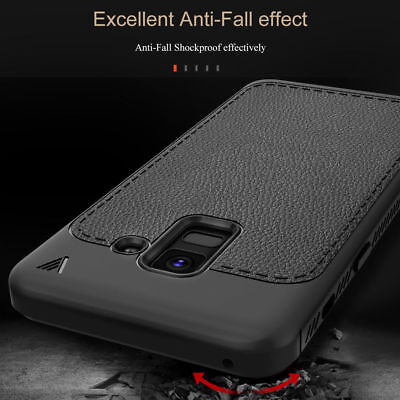 For Samsung Galaxy A8 / Plus 2018 Shockproof Silicone Rubber Soft TPU Case Cover