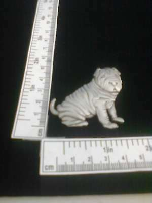 Shar-pei Sitting JJ Original Pewter Pin