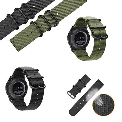 For Samsung Gear S3 Classic / Frontier Smart Watch Band Nylon Strap Sport Wrist