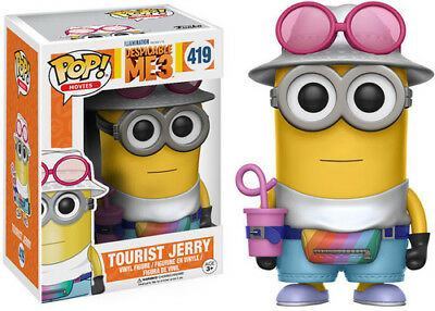 Funko Pop! Movies: Despicable Me 3 - Tourist Jerry [New Toy] Vinyl Figure