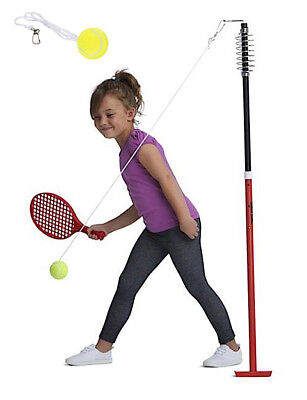 Backyard Totem Tennis Set Game Pole Swing Ball Kids Outdoor Toy Game