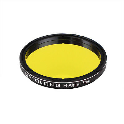 """New OPTOLONG 7nm 2"""" H-Alpha Filter Narrowband Astronomical Photographic US Stock"""