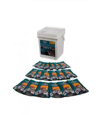 Back Country Emergency Bucket Freeze Dried Meals Backcountry camping prepping