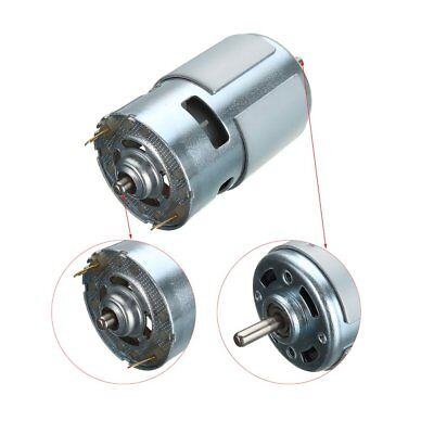 775 DC 12V-24V 3500-9000 RPM Motor Ball Bearing Large Torque Low Noise Motor WA