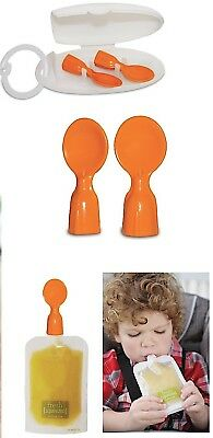 Infantino Squeeze Station Couple A Spoons For Fresh Squeeze Food Pouches