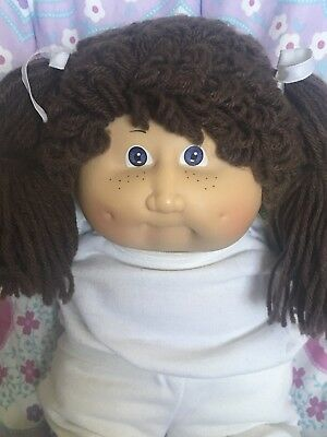 Vintage Coleco Doll Earliest Kid From 1983 Rare Freckles ~ Reduced Was 129.00!!!