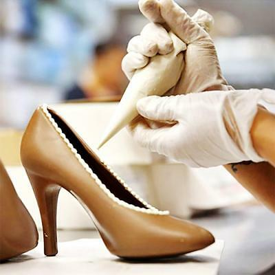 DIY High Heel Shoe Chocolate Candy Cake Baking Mould 3D Jelly Soap Mold Decor
