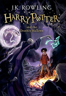 Harry Potter and the Deathly Hallows: 7/7 Ha by J.K. Rowling New Paperback Book