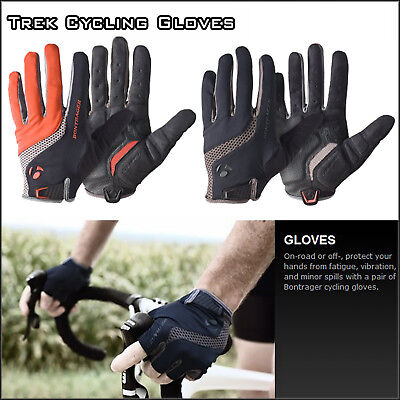 Trek Bontrager Cycling Gloves Bicycle Bike Full Finger Anti Skid Silicone Gloves
