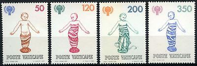 Vatican City 1979 SG#731-734 Year Of The Child MNH Set #D59163