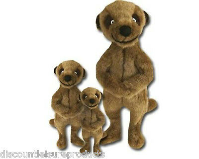 Good Boy Dog/Puppy Toy - Meerkat Soft Plush Squeaker Toy Mini/Medium/Giant