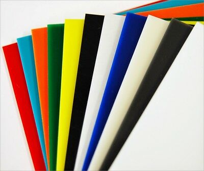 3mm - 5mm A4 A3 Coloured Acrylic Perspex Plastic Sheet Various Colours & Sizes