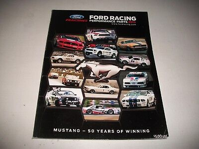 2014 Ford Performance Parts Catalog Mustang Brakes Suspension Crate Engines