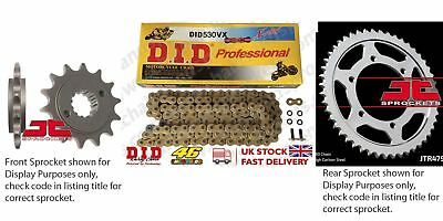 DID- Gold X Ring Motorcycle Heavy Duty Kit fits Suzuki GSX-R1000 09-14