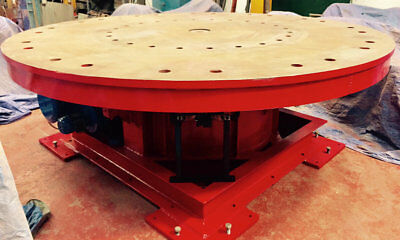 Used Bode 25 Ton Powered Welding Turntable. Refurbished