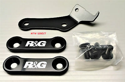 Yamaha XSR900 (2018) R&G LEFT & RIGHT footrest blanking plates