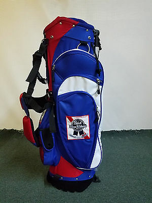 Pabst Blue Ribbon Stand Golf Bag - NEW IN THE BOX, LAST ONE