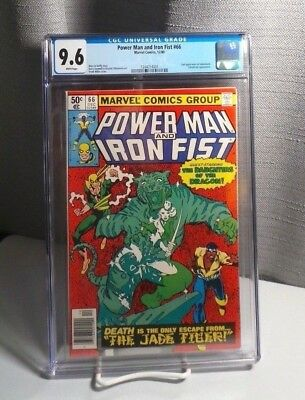 Power Man & Iron Fist # 66 CGC 9.6 White (Marvel 1980) 2nd appearance Sabretooth