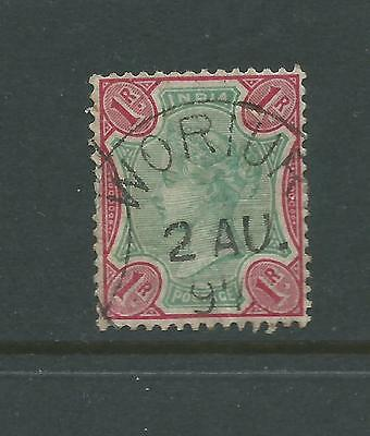 1895 Queen Victoria 1 Rupee Used sold as per scan