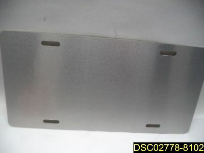 """Qty=44: Some with minor scratches: Aluminum License Plate Blanks 11 3/16""""x5 7/8"""""""