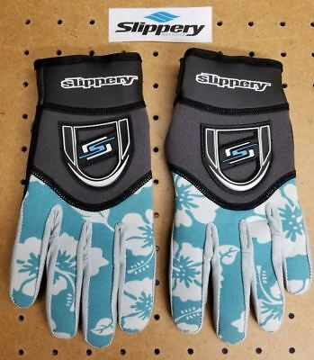 Slippery Reform Glove Women's LG. Teal/Blk Anti-Slip Sports Jet-Ski New 32600086