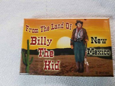 NM Land of Billy the Kid New Mexico Magnet