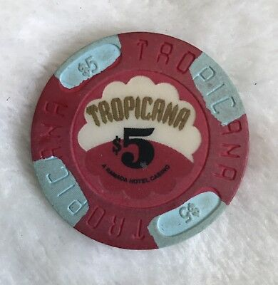 $5 1St Issue Chip From Tropicana Casino Atlantic City