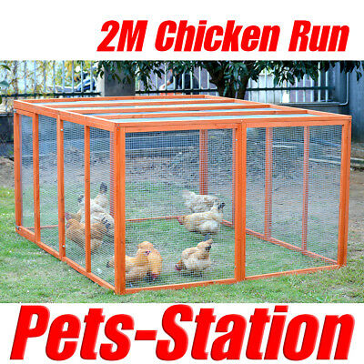 Giant Chicken Coop Extension House  / Cat Run Rabbit Play Pen Hutch Hen Chook