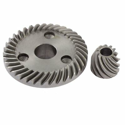 Dark Gray spiral set conical gear for Makita 9523 angle grinder I6Y8