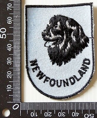 Vintage Newfoundland Canada Embroidered Souvenir Patch Woven Cloth Sew-On Badge