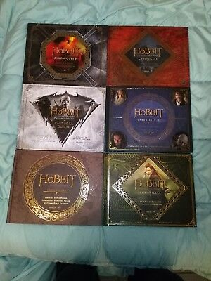 Collection artbooks the Hobbit