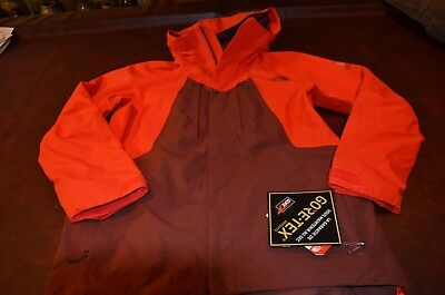 11fc094729dc NWT MSRP  349 THE NORTH FACE MEN S JACKET GORE TEX STEEP SERIES RED BROWN  Large
