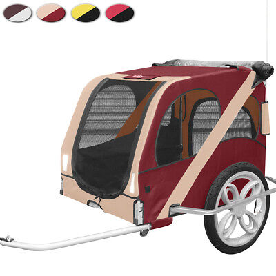 Pet Trailer Fold Bike Dog Bicycle Stroller Safety Clutch Colour Choice