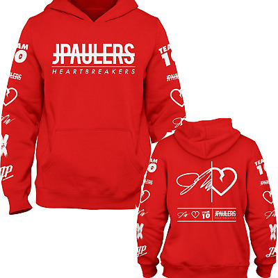 Jake Paul JPaulers Status Heartbreakers Red hoodie Kids Adults its everyday bro