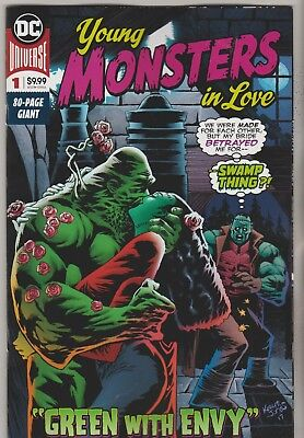 Dc Comics Young Monsters In Love #1 April 2018 1St Print Nm