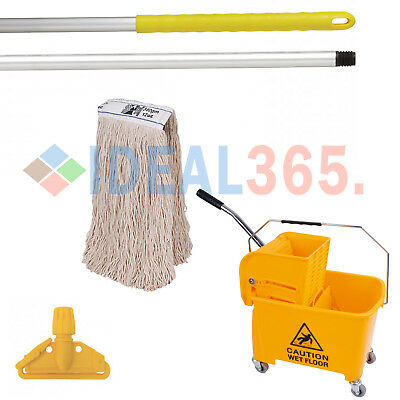 Professional Kentucky Mop and Bucket Set (Yellow) FREE NEXT DAY DELIVERY