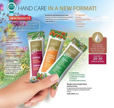 Kit Set 3 pcs Hand Care in A New Format 1 Sachet = 20~30 Applications hand Cream